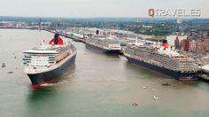 Queen Mary 2, Queen Victoria y el Queen Elizabeth se reunen en Lisboa   QTRAVEL Portal de Viajes y Turismo - QTRAVEL Revista de Viajes