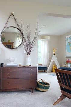 blogger-home-tour-mid-century-modern-home-decor-interior-design-family-room-MCM.jpg 735×1,100 pixels