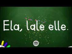 """Ses Temelli Cümle Yöntemi 1.Grup (elakin) """"e,l,a"""" harfleri ile hece,kelime ve cümleler. - YouTube Youtube, Youtube Movies"""