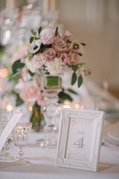 #table-numbers  Photography: Milton Photography - www.milton-photography.com  Read More: http://www.stylemepretty.com/2014/06/23/french-chateau-wedding-inspiration/