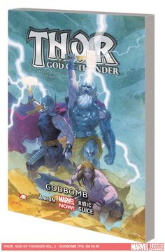 THOR: GOD OF THUNDER VOL. 2 - GODBOMB TPB - The epic story began in the first collection concludes here. A fantastic story that ties together really nicely