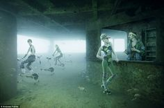 photographer Andreas Franke has created a mythical underwater world for a new exhibition