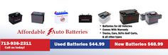 Get a car battery @ Affordable Auto Battery!