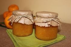 Cocinando entre dos mares: Mermelada de naranja y mandarina.