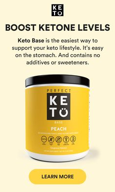 Perfect Keto Base is a doctor-developed powder made from high-quality beta hydroxy-butyrate (BHB).  Unlike similar products on the market, Perfect Keto Base contains zero carbs, zero gums or fillers, and zero sugars.  In other words, zero junk.