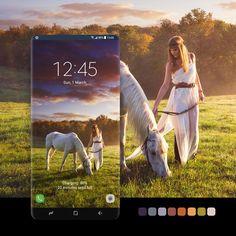 Samsung Galaxy Wallpaper, Fantasy Art, Fairy Tales, Badge, Sunrise, Horses, Smartphone, Android, Painting