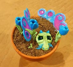 Flower of the Pot Dragons