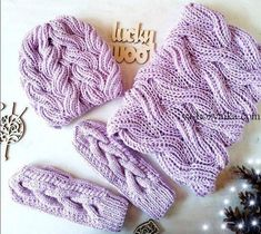 Baby Knitting Patterns, Knitting Stiches, Cable Knitting, Knitting Videos, Knitting Charts, Easy Knitting, Knit Crochet, Crochet Hats, Winter Knit Hats