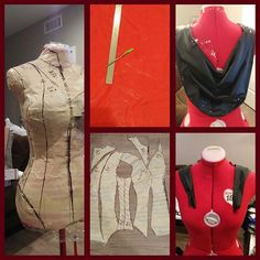Another late night costume update from the work I did yesterday :). Pattern was fixed finished and cut out. Then traced onto the fabric which was also cut out. So everything is ready to sew :3. I also draped the mini cape that will be going along with this :D.Next sewing time!! #cosplay #mbison #bisoncammy #streetfighter #cammywhite #cammywhitecosplay #cosplayersofinstagram #wow #cosplayprogress #cosplaywip @vertvixen