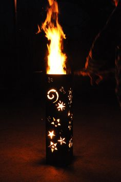 Outdoor Fire PitCelestial Sky by PillarsofFire on Etsy, $189.00