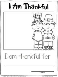 Thanksgiving Writing Activities Kindergarten | Thanksgiving Writing Prompts