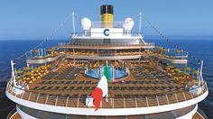 Costa Diadema Celebrates First Birthday With Italy's Finest Cruise Theme