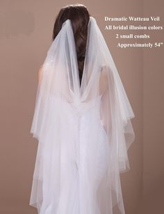 ... Veils on Pinterest | Wedding Veils, Cathedral Wedding Veils and Beaded