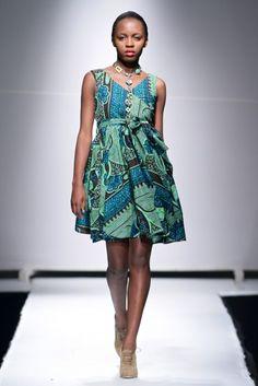 Zuvva SS14 Collection Zimbabwe Fashion Week 2013 -
