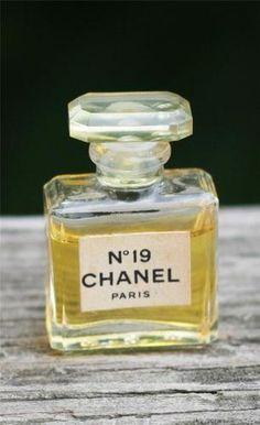 Vintage Chanel No 19 Mini Perfume Bottle (Still Pretty Full)