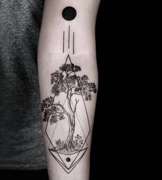 engraving style tattoo by Okan Uckun