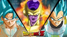 Filme Dragon Ball Z: Resurrection of F  Freeza (Dragon Ball) Vegeta (Dragon Ball) Goku Dragon Ball Z Papel de Parede