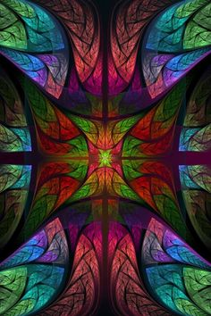 Stained glass Abstract desktop wallpaper -- this might need to be a quilt. Disney Stained Glass, Stained Glass Art, Stained Glass Windows, Mosaic Glass, Photo Wallpaper, Hd Wallpaper, Wallpapers, Fractal Art, Fractals
