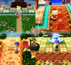 Click the image to see a collection of lovely pathways, grasses, and water QR codes by Rieko (for all 4 seasons of the year!) <3