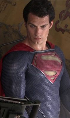 """""""Guuuurl...that shirt with those shoes?"""" LOL Superman doesn't approve of something."""