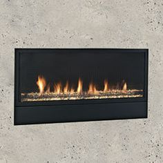 Artisan Vent Free Gas Fireplaces by Monessen Hearth Ventless Fireplace Insert, Vent Free Gas Fireplace, Wood Burning Fireplace Inserts, Fireplace Stores, Propane Fireplace, Linear Fireplace, Fireplace Wall, Fireplace Design, Gas Fireplaces