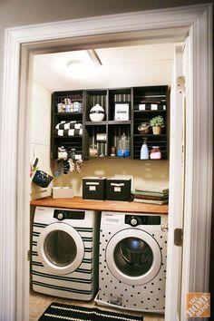 Decorare creativamente la lavatrice! Ecco 20 idee da cui trarre ispirazione…