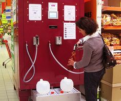 French Wine Vending Machines - when will this come to the US?