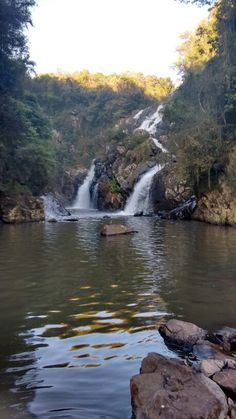 Cascata São Miguel em Ivoti, RS