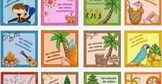 Ideenreise: Kleine Kärtchen für die Sommerferien (Gastmaterial)