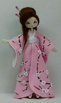 Inspiration - beautiful. Aelita Surmachevskaya Knit Or Crochet, Crochet Crafts, Crochet Toys Patterns, Crochet Doll Pattern, Stuffed Toys Patterns, Knitted Dolls, Crochet Dolls, Wall Photos, Kokeshi Dolls