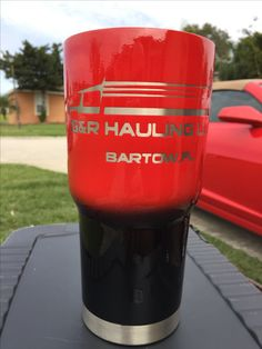 Business Custom Powder Coated Cups! No Stickers No Vinyl! 100% Powder Coat! Need a Cup, Hit me Up! The Cup Plug!