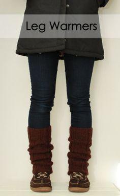 Leg Warmers #pattern