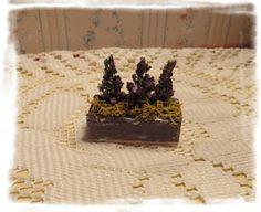 Casa de muñecas de Jane - Casa de muñecas rosa pasada: DIY; brezos en el cuadro de 1:12