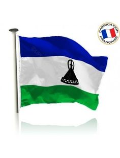 Drapeau Lesotho Made In France by Manufêtes
