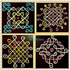 Rani's Rangolis added a new photo. Rangoli Designs Flower, Rangoli Border Designs, Small Rangoli Design, Rangoli Ideas, Rangoli Designs With Dots, Rangoli Designs Images, Flower Rangoli, Rangoli With Dots, Beautiful Rangoli Designs