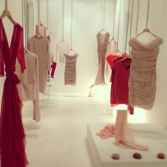 The Spring Summer collection in our store in Barcelona.