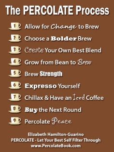 Elizabeth Hamilton Guarino - PERCOLATE - Let Your Best Self Filter Through - Brew Your Best Life