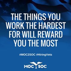 Success quotes from #1 Military Talent Exchange MOC2SOC! #Success #quoteee