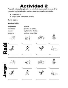 SPANISH REFLEXIVE VERBS SPEAKING ACTIVITY (2 COMPLETE ACTIVITIES) - TeachersPayTeachers.com