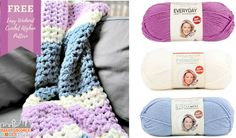 Easy Weekend Crochet Afghan Free Pattern