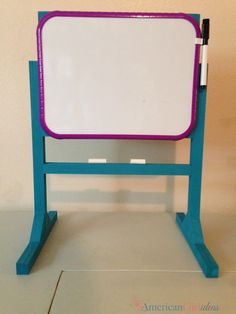 American Girl White Board