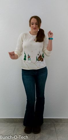 Amy Fashion: Not So Ugly Christmas Sweater