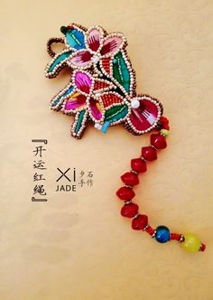 All hand made and beaded jewelry from an ethnic jeweler in Yunnan