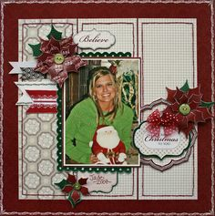 Once Upon a Christmas Layout featuring Robbie Herring