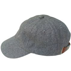 Image of Wool Knit Baseball Cap