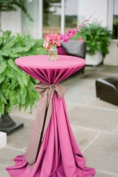 Cocktail table decor on pinterest cocktail tables for Wedding cocktail tables decorations