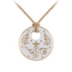 Barokk fehér-arany finomporcelán kerek nyaklánc Washer Necklace, Jewelry, Fashion, Jewlery, Moda, Jewels, La Mode, Jewerly, Fasion