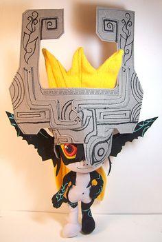 Midna - Zelda TwPrincess Plush by usako-chan.deviantart.com on @deviantART