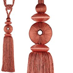Rolls Curtain Tieback Polo, Soft Coral