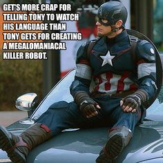 Poor Steve Rogers